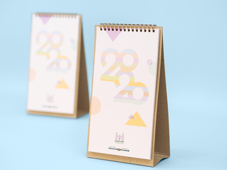 Portada calendario Emakunde 2020